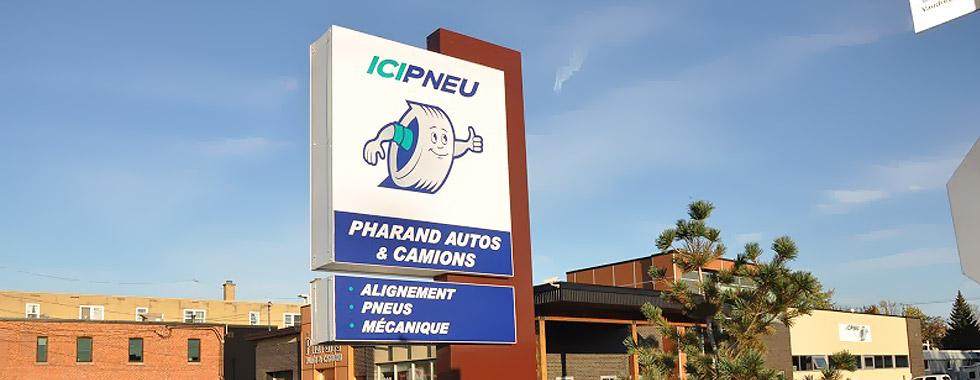 Centre service Unipneu Pharand Autos & Camions